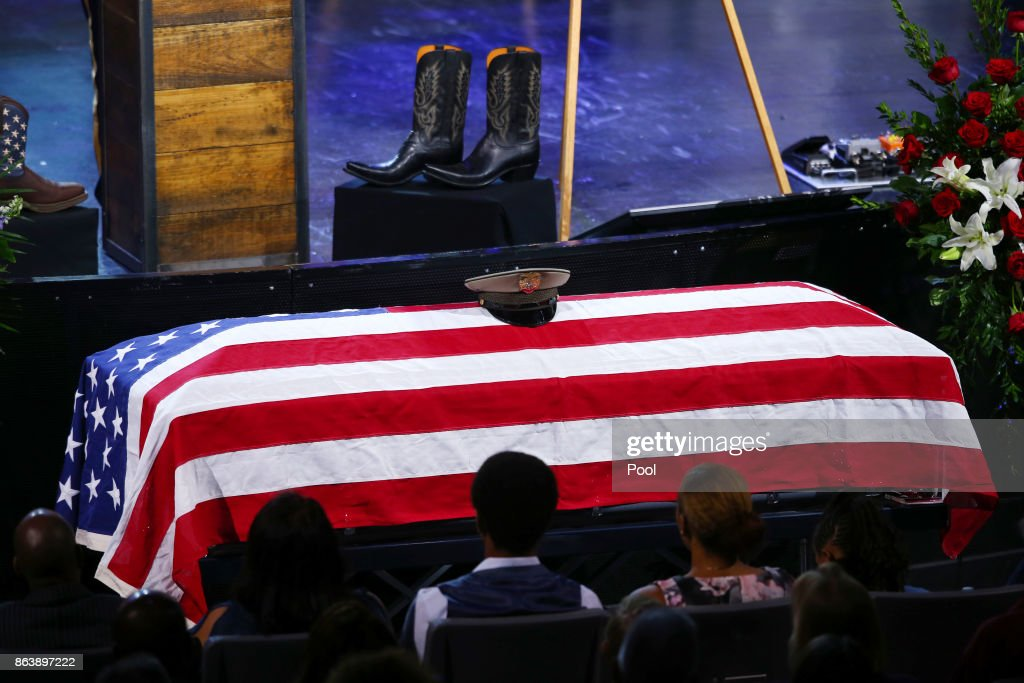Funeral Held for Police Officer Killed in Las Vegas Attack