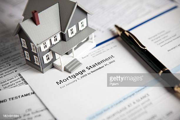 Family mortgage loan statement