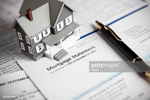 Familie Hypotheken-Darlehen statement
