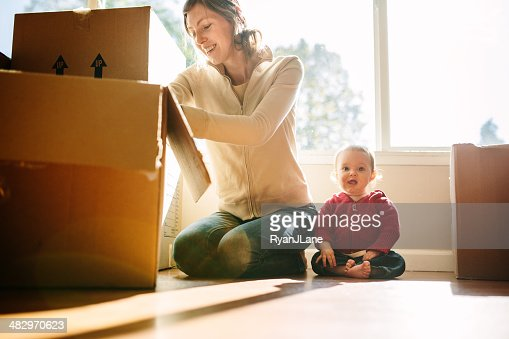 Famiglia muoversi