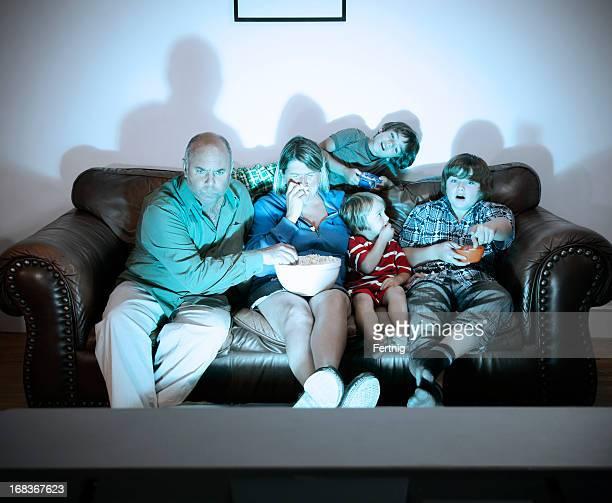 Família filme noite