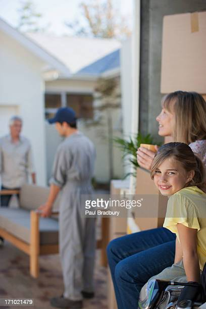 Family moving into new home
