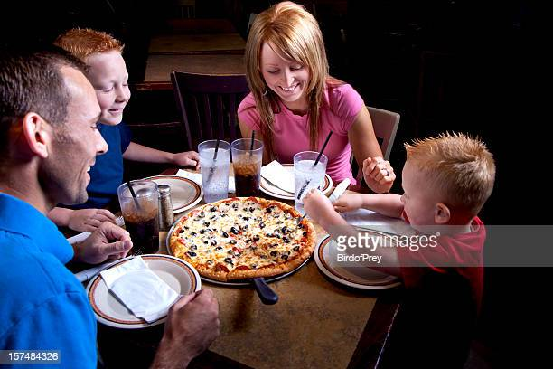 Family Night at the Pizza Parlor.