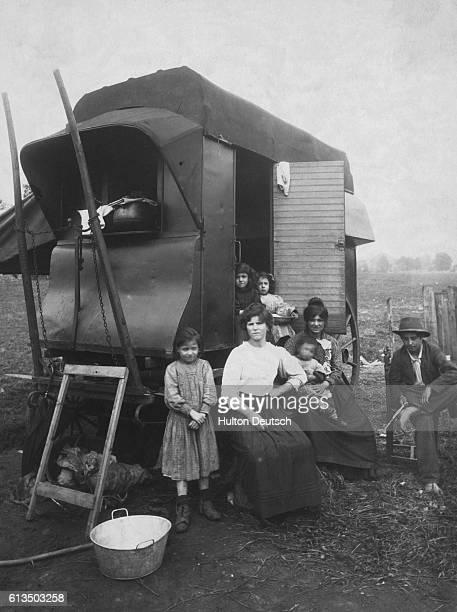 A Family Of European Gypsies