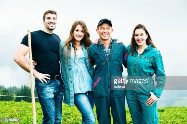 Famille des agriculteurs