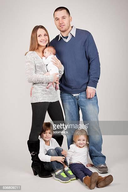Family of Five Portrait