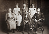 Famille de sept