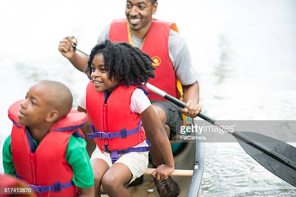 Family on a Canoe Trip