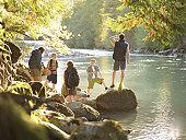 Cheakamus River, British Columbia, Canada, September 2003
