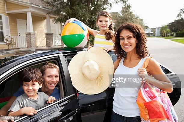 road trip en famille sur la plage