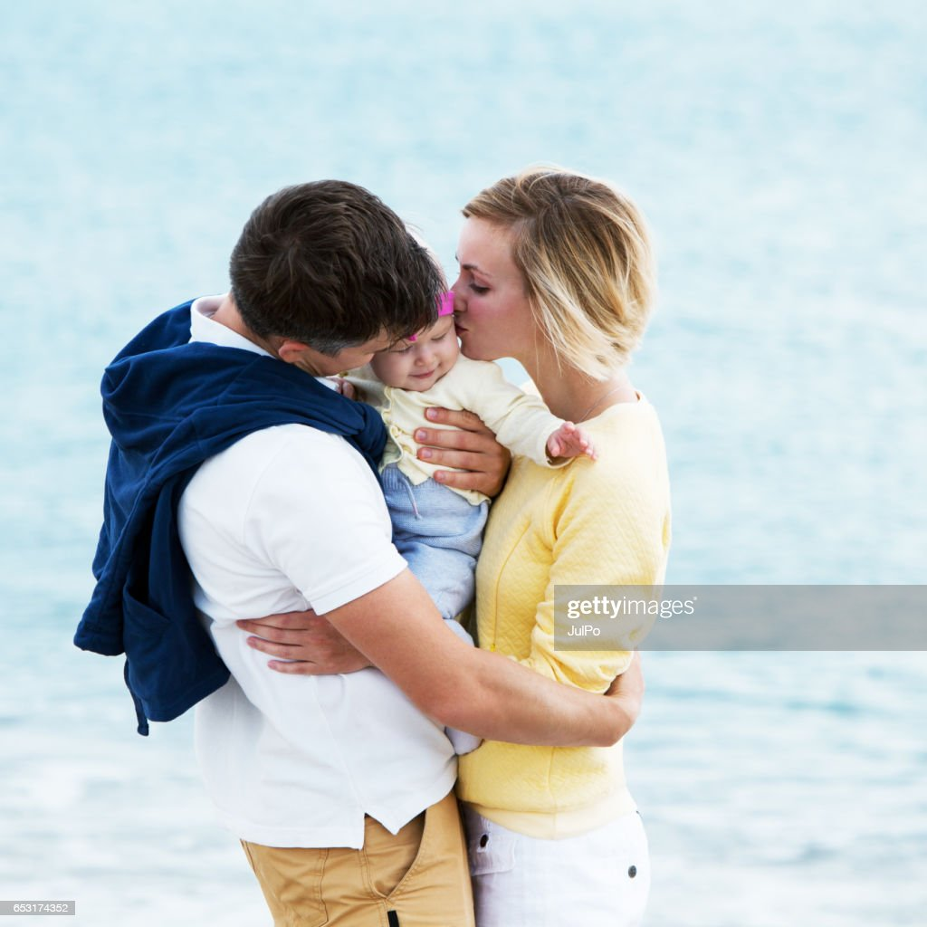 Family on vacation : Stock Photo
