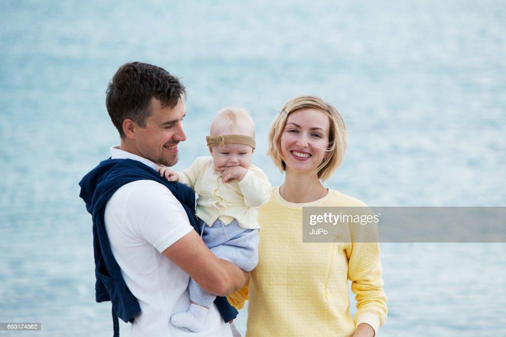 ご家族でのバケーション : ストックフォト
