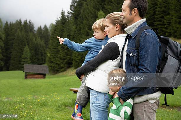 Family Out Sightseeing