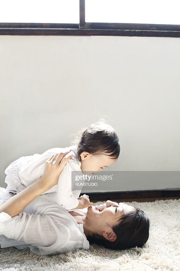 family(mama&baby) : Stock Photo