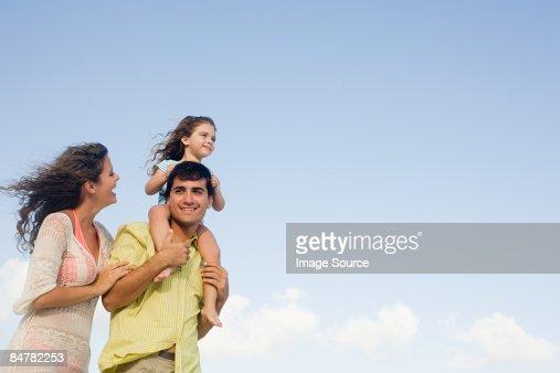 A family : Stock-Foto