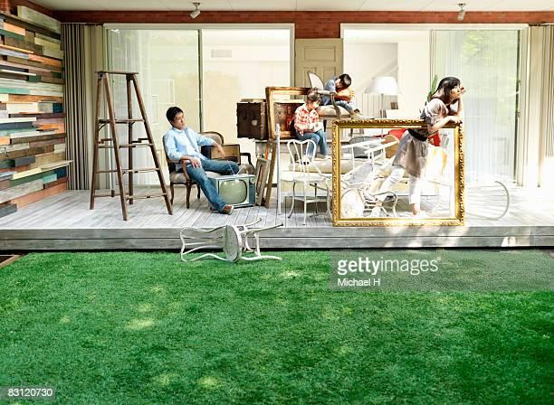 Family prepares move,a short rest