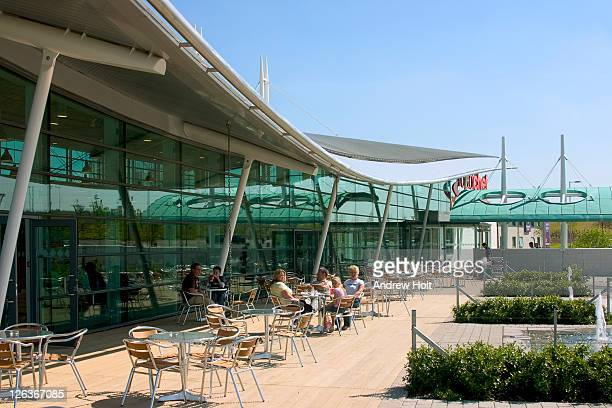 A family relaxes at Norton Canes services, next to the M6. Norton Canes services is a motorway service station on the M6 Toll located in the village of Norton Canes, near the town of Walsall. Opened on 9 March 2004, it claims to be the best service area on