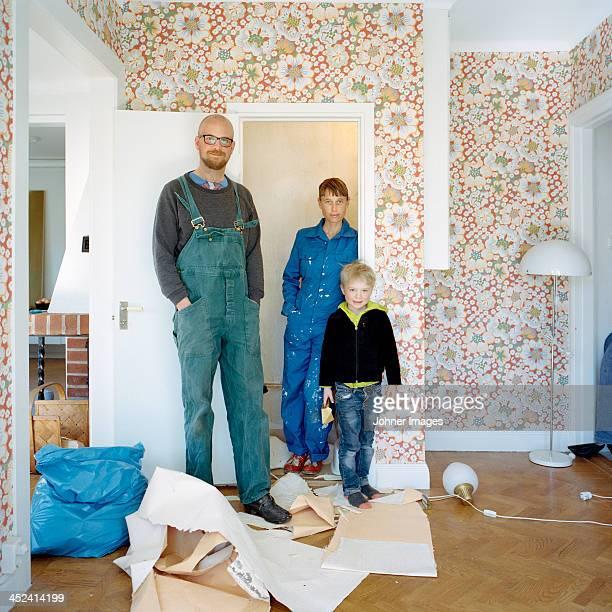Family renovating room