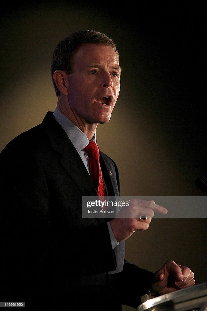 Family Research Council president Tony Perkins speaks during the 2011 Republican Leadership Conference on June 18, 2011 in New Orleans, Louisiana. The 2011 Republican Leadership Conference features keynote addresses from most of the major republican candidates for president as well as numerous republican leaders from across the country.
