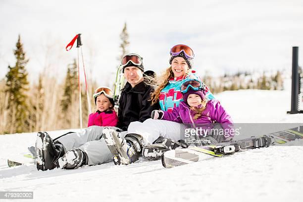 Familie Ski-Urlaub
