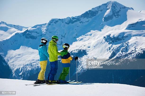 Family ski vacation