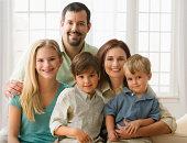 Family, smiling, portrait