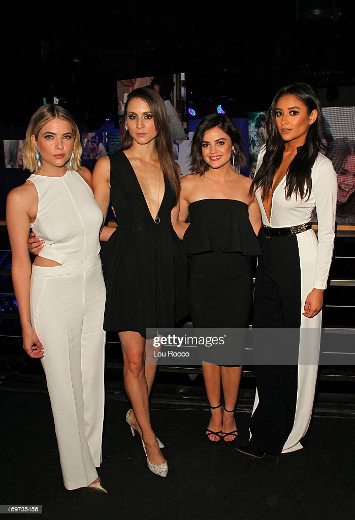 Family stars appeared at the network's upfront event held on Tuesday April 14 at SIR Stage 37 in New York City The network announced its summer...
