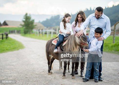 family stroking