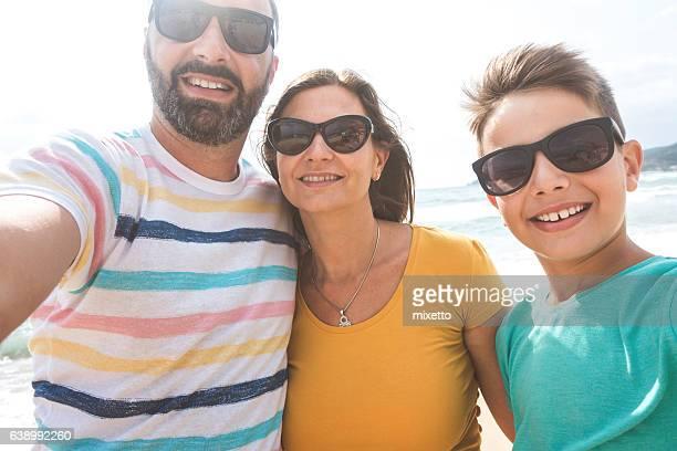 Family summer selfie