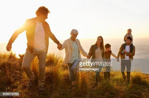 Family teamwork