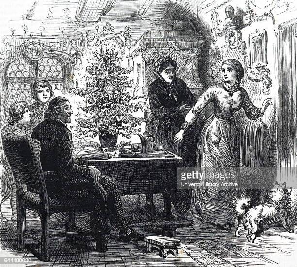 Family tensions at the Christmas table England 1892