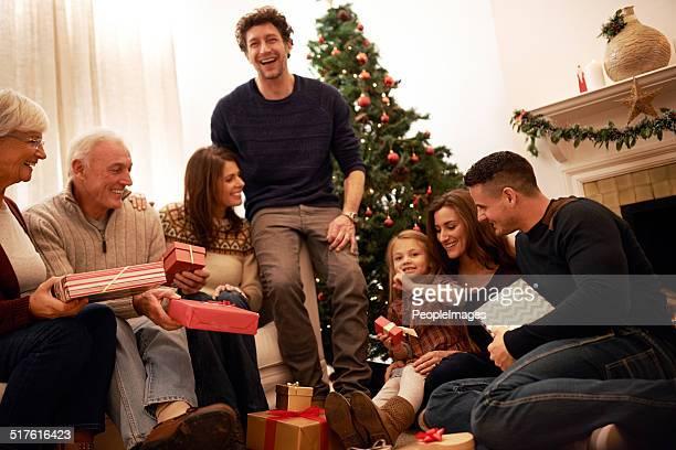 Zeit für die Familie ist das größte Geschenk!