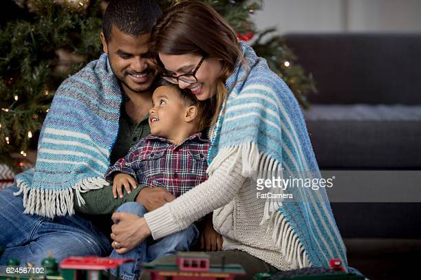 Family Together During the Holidays