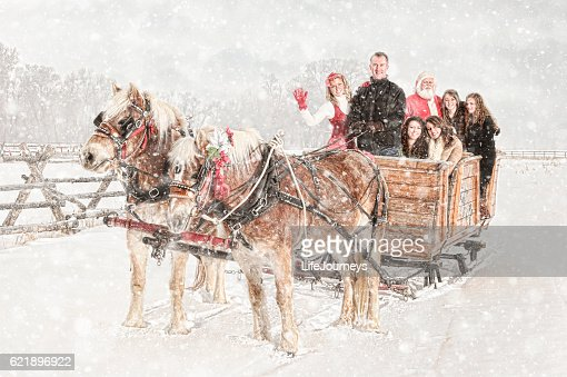 Family Traditions - Christmas Sleigh Ride With Santa