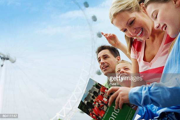 Family Traveling in London