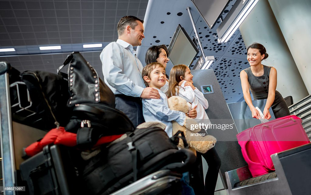 Family traveling : Stock Photo