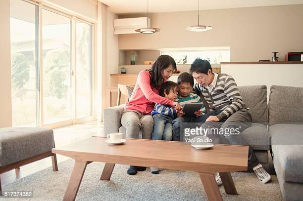 デジタルタブレットご家族とご一緒におくつろぎいただけます。