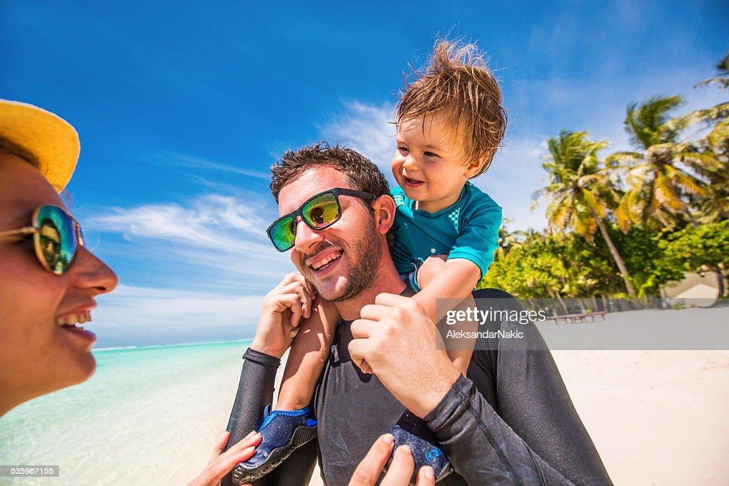 Family vacation : Stock Photo