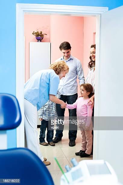 Famille visite médicale