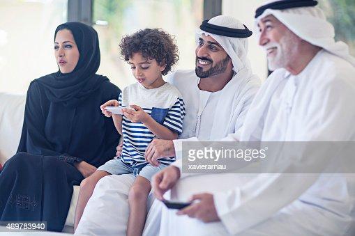 家族の TV