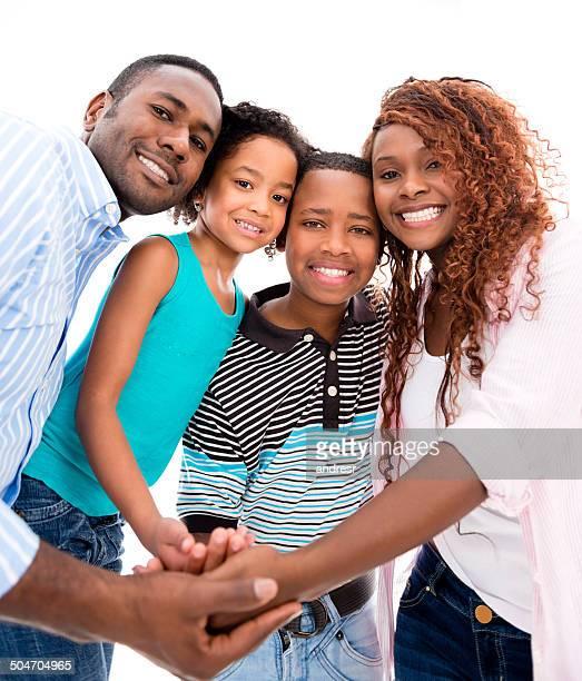 Família com as Mãos