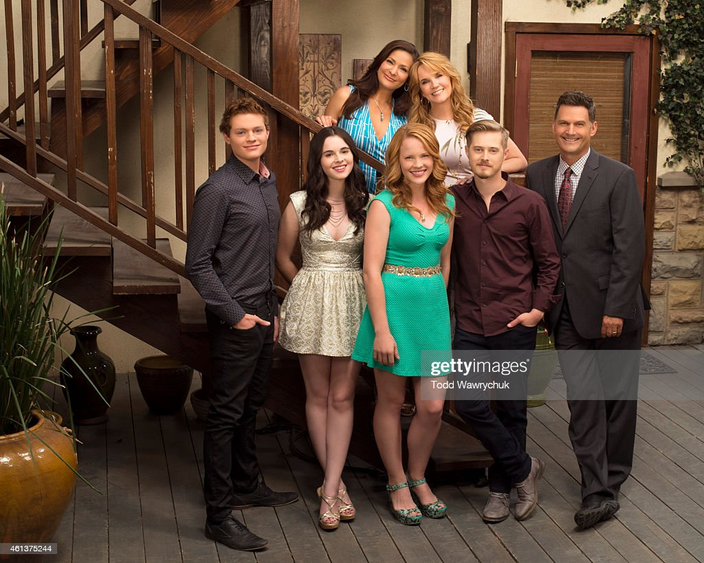 Family's 'Switched at Birth' stars Sean Berdy as Emmett Bledsoe Vanessa Marano as Bay Kennish Constance Marie as Regina Vasquez Katie Leclerc as...