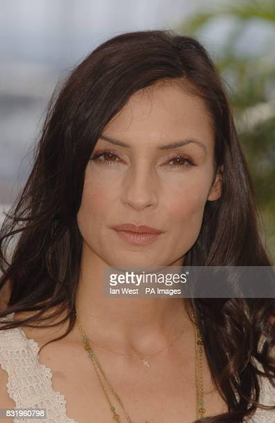 Famke Janssen attends a photocall for her new film 'XMEN 3 The Last Stand' at the Palais du Festival in Cannes France
