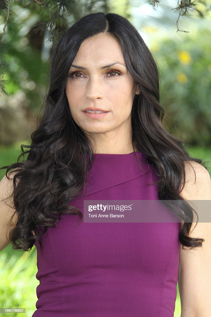 Famke Janssen attends 'Hemlock Grove' Photocall during MIPTV at the Majestic Hotel on April 9, 2013 in Cannes, France.