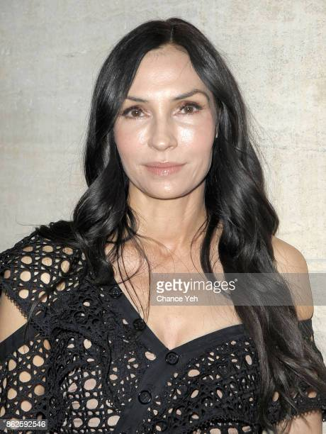 Famke Janssen attends Skin Cancer Foundation Champions For Change gala at Cipriani 25 Broadway on October 17 2017 in New York City
