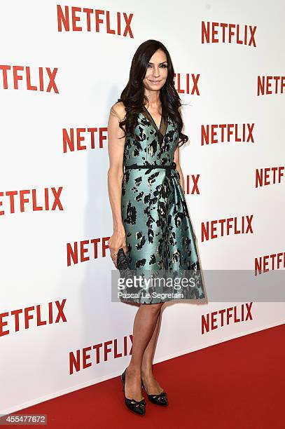 Famke Janssen attends the 'Netflix' Launch Party at Le Faust on September 15 2014 in Paris France