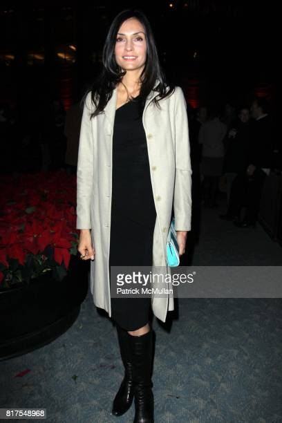 Famke Janssen attends The New York Premiere of TRUE GRIT at Ziegfeld Theatre on December 14 2010 in New York City