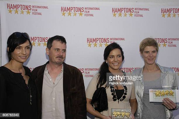 Famke Janssen Chris Eigeman Anastasia Brown and attend GOLDEN STAR FISH AWARDS HAMPTONS INTERNATIONAL FILM FESTIVAL at United Artists Theatres on...