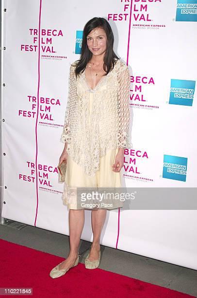 Famke Janssen during 4th Annual Tribeca Film Festival 'The Interpreter' Premiere at Ziegfeld Theater in New York City New York United States
