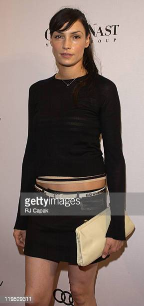 Famke Janssen during Conde Nast and Audi Host Never Follow Bash at Gotham Hall in New York City New York United States